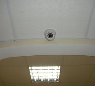 Установка видеонаблюдения в офисе СпецТехноТрейд