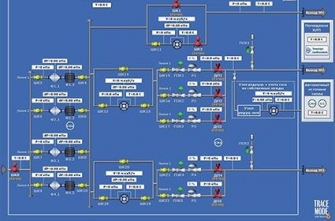Система управления на базе SCADA Trace Mode 6