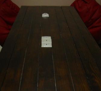 Монтаж розеток в конференц столе